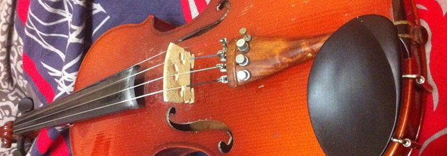 rêver d'un violon accoustic